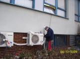 Dodávka a montáž klimatizací Sinclair (JE Dukovany)