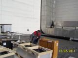 Kondenzátor sálové klimatizace Stulz (JE Dukovany)
