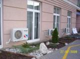Kondenzační jednotky klimatizací Sinclair (FN u svaté Anny)