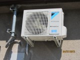 Daikin outdoor air in the family house